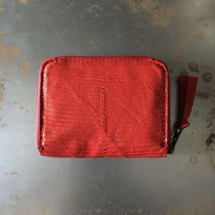 CHRISTIAN PEAU CP WALLET S(クリスチャン ポー CP 財布)LIZARD RED