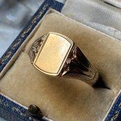 c.1952-53 9KYG Signet Ring Bias Check(1952〜53年 9KYG シグネットリング バイアスチェック)