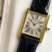 Cartier MUST TANK Oparan(カルティエ マスト タンク オパラン)LM 純正尾錠