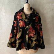Vintage Flower Pattern Jacket(ヴィンテージ 花柄 ジャケット)