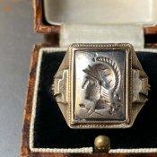 OSTBY & BARTON Silver Intaglio Ring(オストビー& バートン シルバー インタリオリング)騎士
