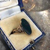 Bloodstone Signet Ring(ブラッドストーン シグネットリング)