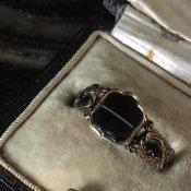 Victorian Signet Ring(ヴィクトリアン シグネットリング)Banded Agate