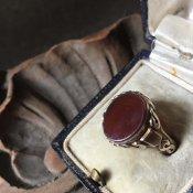 Vintage Signet Ring(ヴィンテージ シグネットリング)Carnelian
