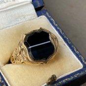 Vintage Signet Ring(ヴィンテージ シグネットリング)Banded Agate