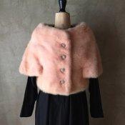 1950〜60's Vintage Real Fur Bolero(1950〜60年代 ヴィンテージ リアル ファー ボレロ)