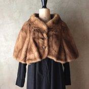 1950~60's Vintage Real Fur Bolero(1950〜60年代 ヴィンテージ リアル ファー ボレロ)
