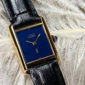 Cartier MUST TANK(カルティエ マストタンク)SM 純正尾錠付