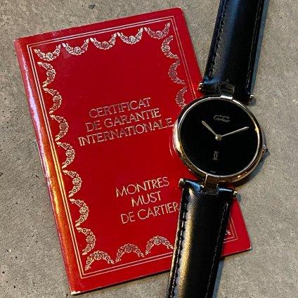 Cartier VENDOME(カルティエ ヴァンドーム) 純正尾錠・国際保証書付 LMサイズ