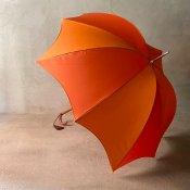 DiCesare Designs (ディチェザレデザイン) 雨傘 Rhythm 2TONE Orange