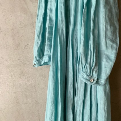 <img class='new_mark_img1' src='https://img.shop-pro.jp/img/new/icons13.gif' style='border:none;display:inline;margin:0px;padding:0px;width:auto;' />【予約販売】suzuki takayuki flared dress(スズキタカユキ フレアドレス)Spray green