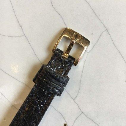 OMEGA LADYMATIC(オメガ レディマティック)18KYG 金無垢 純正ベルト・尾錠付