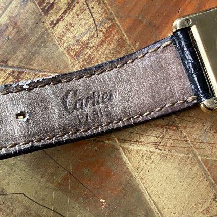 Cartier TANK(カルティエ タンク)純正ベルト・尾錠 LMサイズ