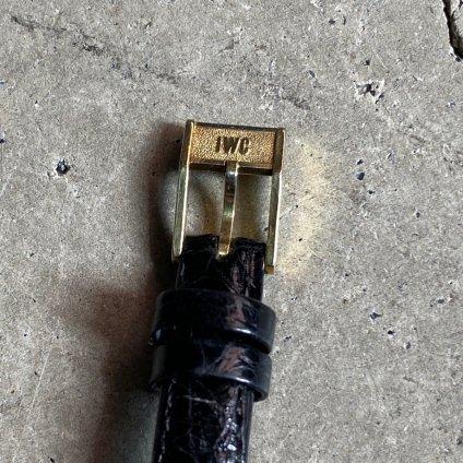 IWC(インターナショナルウォッチカンパニー)18KYG金無垢 純正尾錠付