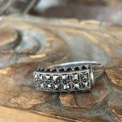 1920's   Silver/Marcasite Ring(1920年代 シルバー/マーカサイト リング)
