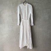 suzuki takayuki flared dress(スズキタカユキ フレアドレス)Nude
