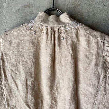 suzuki takayuki embroidered blouson(スズキタカユキ エンブロイダード ブルゾン)Nude