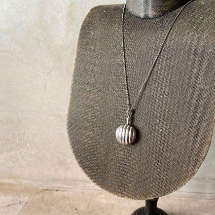 1920~30's Silver Perfume Bottle Necklace(1920〜30年代 シルバー パフュームボトルネックレス)