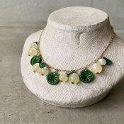 1960's French Green Citrus Necklace(1960年代 フランス グリーンシトラス ネックレス)