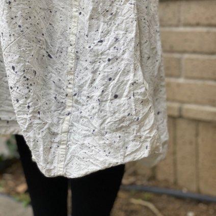 HALLELUJAH 7, Acolyte Robe teint(ハレルヤ 従者染めローブ)Stone Off white