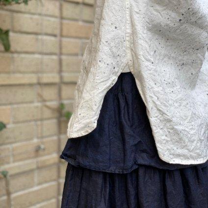 HALLELUJAH 8, Victorian Chemise teint(ハレルヤ ヴィクトリア時代 染めシャツ)Stone Off White