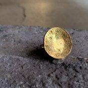 momocreatura Large Moon Disc Ring (ラージムーンリング ゴールド)