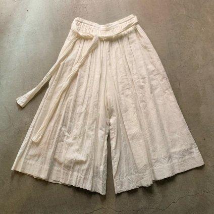 suzuki takayuki culotte pants(スズキタカユキ キュロットパンツ)Nude