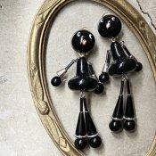 1960's French Bakelite Earrings(1960年代 フランス ベークライト イヤリング)DEAD STOCK