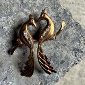 1940's French Brass Brooch(1940年代 フランス 真鍮 ブローチ)