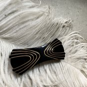 <img class='new_mark_img1' src='https://img.shop-pro.jp/img/new/icons13.gif' style='border:none;display:inline;margin:0px;padding:0px;width:auto;' />1960's French Plastic Black Hair Clip(1960年代 フランス プラスチック ブラック バレッタ)DEAD STOCK