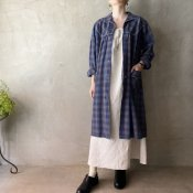 <img class='new_mark_img1' src='https://img.shop-pro.jp/img/new/icons13.gif' style='border:none;display:inline;margin:0px;padding:0px;width:auto;' />Vintage Front Buttoned Shirt Dress(ヴィンテージ フロントボタン シャツワンピース)