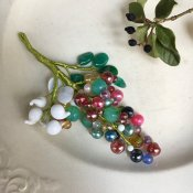 <img class='new_mark_img1' src='https://img.shop-pro.jp/img/new/icons13.gif' style='border:none;display:inline;margin:0px;padding:0px;width:auto;' />1960's PAOLA Glass Brooch(ブローチ)