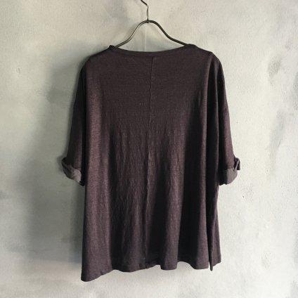 ikkuna/suzuki takayuki balloon-sleeve t-shirt(イクナ/スズキタカユキ バルーンスリーブTシャツ)Charcoal Gray
