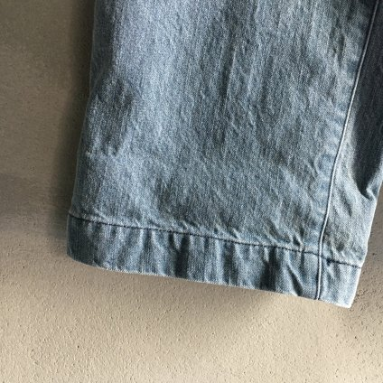 ikkuna/suzuki takayuki painter pants(イクナ/スズキタカユキ  ペインターパンツ)Vintage Blue