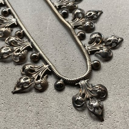 1930's France Metal Necklace(1930年代 フランス メタル ネックレス)