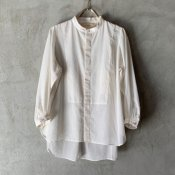<img class='new_mark_img1' src='https://img.shop-pro.jp/img/new/icons13.gif' style='border:none;display:inline;margin:0px;padding:0px;width:auto;' />suzuki takayuki organdy shirt(スズキタカユキ オーガンジーシャツ)Nude