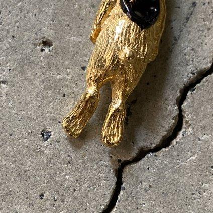 momocreatura  Stolen Heart Bunny Necklace(うさぎ ネックレス ゴールド)