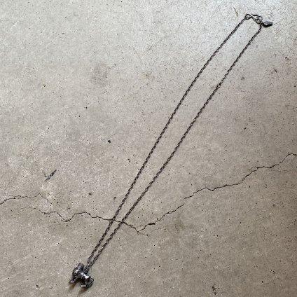 momocreatura  British Lion Necklace(ブリティッシュライオン ネックレス 燻しシルバー)