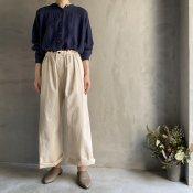 ikkuna/suzuki takayuki wide pants(イクナ/スズキタカユキ  ワイドパンツ)Nude