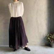 ikkuna/suzuki takayuki combination skirt(イクナ/スズキタカユキ コンビネーションスカート)Charcoal Gray