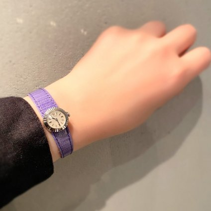 <img class='new_mark_img1' src='https://img.shop-pro.jp/img/new/icons13.gif' style='border:none;display:inline;margin:0px;padding:0px;width:auto;' />ROLEX CHAMELEON Orchid(ロレックス カメレオン オーキッド)18KWG 純正尾錠付