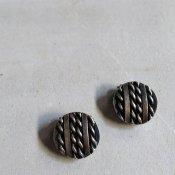 1950's France Metal Earrings(1950年代 フランス メタル イヤリング)