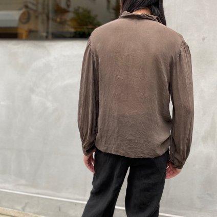 CHRISTIAN PEAU CP LONG SLEEVE SHIRT(クリスチャン ポー ロングスリーブ シャツ)D GARNET