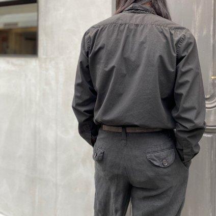 CHRISTIAN PEAU CP BOSOM 004 LONG SHIRT(クリスチャン ポー ブザム ロング シャツ)BLACK