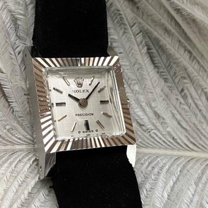 <img class='new_mark_img1' src='https://img.shop-pro.jp/img/new/icons13.gif' style='border:none;display:inline;margin:0px;padding:0px;width:auto;' />ROLEX PRECISION(ロレックス プレシジョン)18KWG 純正尾錠・ベルト