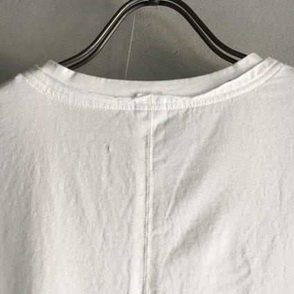 ikkuna/suzuki takayuki print T-shirt ii (イクナ/スズキタカユキ プリントTシャツ ii)Snow White