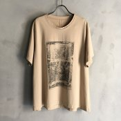 <img class='new_mark_img1' src='https://img.shop-pro.jp/img/new/icons13.gif' style='border:none;display:inline;margin:0px;padding:0px;width:auto;' />ikkuna/suzuki takayuki print T-shirt ii (イクナ/スズキタカユキ プリントTシャツ ii)Hazel