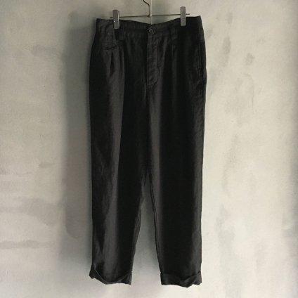 CHRISTIAN PEAU CP 2 TUCK PANTS(クリスチャン ポー ツータック パンツ) BLACK