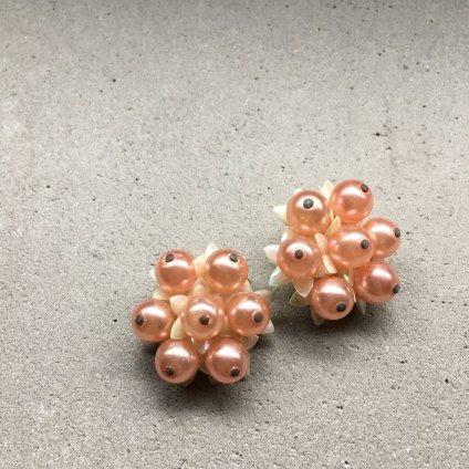 1960's UK Flower Earrings(1960年代 イギリス フラワー イヤリング)