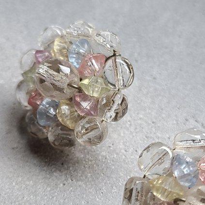 1960's UK Pastel Earrings(1960年代 イギリス パステル イヤリング)